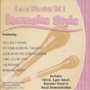 Karaoke Style: Karen Wheaton, Vol. 1 image