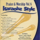 Karaoke Style: Praise & Worship, Vol. 6