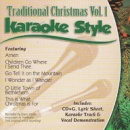 Karaoke Style: Traditional Christmas, Vol. 1 image