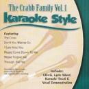 Karaoke Style: Crabb Family, Vol. 1 image