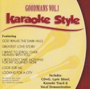 Karaoke Style: Goodmans, Vol. 1