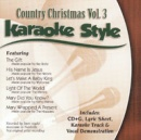 Karaoke Style: Country Christmas, Vol. 3