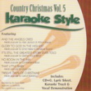Karaoke Style: Country Christmas, Vol. 5