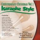 Karaoke Style: Contemporary Christmas, Vol. 1